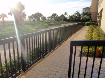 CRESENT BEACH SOLID  WELDED ALUM. RAILING WITH 15 YEAR POWDER COAT WARRANTY